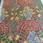 Bush Banana Australian Aboriginal Art Fabric by Donna Abbots -Wideback 150cm wide by M & S Textiles Wide Quilt Backs - OzQuilts