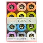 Wonderfil Eleganza 8wt Ball Pack - Pastels by Wonderfil  Thread Sets - OzQuilts
