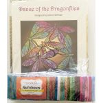 Dance of the Dragonfly Quilt Kit Includes Backing Panel, Fabric and Pattern by Hoffman Quilts Kits - OzQuilts