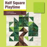 Matilda's Own Half Square Playtime Patchwork Template Set by Matilda's Own Quilt Blocks - OzQuilts