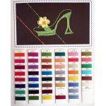 Wonderfil Razzle Thread Colour Chart by Wonderfil  Thread Colour Charts - OzQuilts