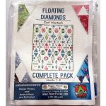 Floating Diamonds Complete Paper Piecing Pack by Carl Hentsch by Paper Pieces Paper Pieces Kits & Templates - OzQuilts