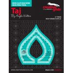 Creative Grids Machine Quilting Tool - Taj by Creative Grids Machine Quilting Rulers - OzQuilts
