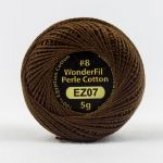 Wonderfil Eleganza, Rich Soil (EL5G07) 8wt Cotton Thread 5g balls by Wonderfil  Eleganza 8wt Cotton - OzQuilts