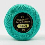Wonderfil Eleganza, Seafoam Green (EL5G09) 8wt Cotton Thread 5g balls by Wonderfil  Eleganza 8wt Cotton - OzQuilts