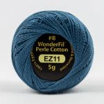 Wonderfil Eleganza, Battleship (EL5G11) 8wt Cotton Thread 5g balls by Wonderfil  Eleganza 8wt Cotton - OzQuilts