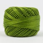 Wonderfil Eleganza, Tart Capers (EL5G146) 8wt Cotton Thread 5g balls by Wonderfil  Eleganza 8wt Cotton - OzQuilts