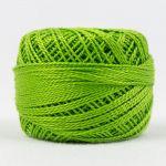 Wonderfil Eleganza, Granny Smith (EL5G154) 8wt Cotton Thread 5g balls by Wonderfil  Eleganza 8wt Cotton - OzQuilts