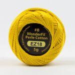 Wonderfil Eleganza, Sunny Side Up (EL5G18) 8wt Cotton Thread 5g balls by Wonderfil  Eleganza 8wt Cotton - OzQuilts