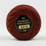 Wonderfil Eleganza, Autumn Leaf (EL5G19) 8wt Cotton Thread 5g balls by Wonderfil  Eleganza 8wt Cotton - OzQuilts