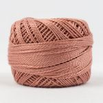 Wonderfil Eleganza, Rosy Tan (EL5G306) 8wt Cotton Thread 5g balls by Wonderfil  Eleganza 8wt Cotton - OzQuilts