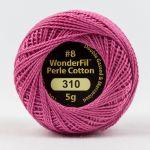 Wonderfil Eleganza, Pink Gloss (EL5G310) 8wt Cotton Thread 5g balls by Wonderfil  Eleganza 8wt Cotton - OzQuilts