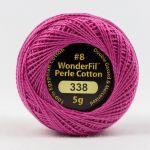 Wonderfil Eleganza, Azalea (EL5G338) 8wt Cotton Thread 5g balls by Wonderfil  Eleganza 8wt Cotton - OzQuilts
