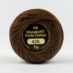 Wonderfil Eleganza, Nutmeg (EL5G426) 8wt Cotton Thread 5g balls by Wonderfil  Eleganza 8wt Cotton - OzQuilts
