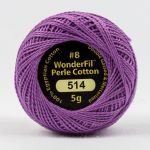 Wonderfil Eleganza, Fragrant Lilac (EL5G514) 8wt Cotton Thread 5g balls by Wonderfil  Eleganza 8wt Cotton - OzQuilts
