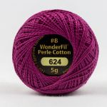 Wonderfil Eleganza, Glamour (EL5G624) 8wt Cotton Thread 5g balls by Wonderfil  Eleganza 8wt Cotton - OzQuilts