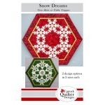 Snow Dreams Christmas Tree Skirt or Table Topper Pattern by  Christmas - OzQuilts