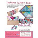 Amy Butler Splendor Designer Ribbon Pack 5 Yards by Renaissance Ribbons Bag Making Accessories - OzQuilts