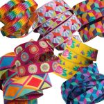 Kaffe Fassett Spanish Rose Designer Ribbon Pack 7 Yards by Renaissance Ribbons Bag Making Accessories - OzQuilts