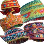 Odile Bailloeul Gypsy Designer Ribbon Pack 5 Yards by Renaissance Ribbons Bag Making Accessories - OzQuilts