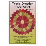 Triple Dresden Christmas Tree Skirt Pattern by  Christmas - OzQuilts
