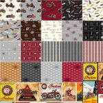 Indian Motorcycle Fat Quarter Bundle 21 Fat Quarters by Riley Blake by Riley Blake Designs Fat Quarter Packs - OzQuilts