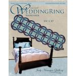 Quiltworx Wedding Ring Bedrunner Quilt Pattern & Foundation Papers by Quiltworx Judy Niemeyer Quiltworx - OzQuilts