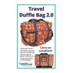 Travel Duffle Bag 2.0 Bag Pattern by Annie Unrein by ByAnnie Bag Patterns - OzQuilts