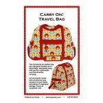 Carry On Travel Bag Bag Pattern by Annie Unrein by ByAnnie Bag Patterns - OzQuilts