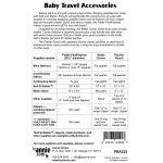 Baby Travel Accessories Bag Pattern by Annie Unrein by ByAnnie Bag Patterns - OzQuilts