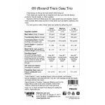 All Aboard! Train Case Trio Bag Pattern by Annie Unrein by ByAnnie Bag Patterns - OzQuilts