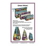 Open Wide Handy Zippered Bags Pattern by Annie Unrein by ByAnnie Bag Patterns - OzQuilts