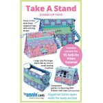 Take A Stand Bag Pattern by Annie Unrein by ByAnnie Bag Patterns - OzQuilts