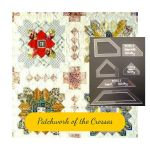 Lucy Boston Patchwork of The Crosses 1 inch Halo Edge Template Set by OzQuilts EPP Templates - OzQuilts
