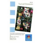 Tea Leaf Christmas Ornaments Pattern by PoorHouse Quilt Designs Christmas - OzQuilts