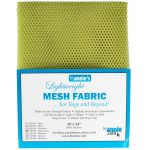 "Lightweight Mesh Fabric By Annie  18"" x 54"" Apple Green by ByAnnie By Annies Fabric Mesh, Vinyl, Strapping - OzQuilts"