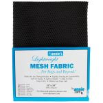 "Lightweight Mesh Fabric By Annie  18"" x 54"" Black by ByAnnie By Annies Fabric Mesh, Vinyl, Strapping - OzQuilts"