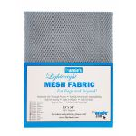 "Lightweight Mesh Fabric By Annie  18"" x 54"" Pewter by ByAnnie By Annies Fabric Mesh, Vinyl, Strapping - OzQuilts"
