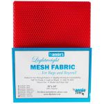 "Lightweight Mesh Fabric By Annie  18"" x 54"" Atomic Red by ByAnnie By Annies Fabric Mesh, Vinyl, Strapping - OzQuilts"