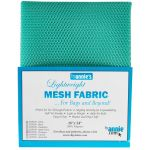 "Lightweight Mesh Fabric By Annie  18"" x 54"" Turquoise by ByAnnie By Annies Fabric Mesh, Vinyl, Strapping - OzQuilts"