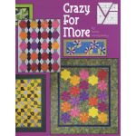 Crazy for More - 9 Projects for the Creative Grids Scrap Crazy 6 template set by  Books - OzQuilts