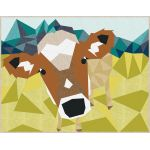 The Cow Abstractions Quilt Pattern by Violet Craft by Violet Craft Abstractions Patterns Violet Craft - OzQuilts