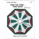 Little Bits Trim the Tree Skirt Pattern and Papers by A Very Special Collection Patterns & Foundation Papers - OzQuilts