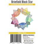 Brimfield Block Star English Paper Piecing Pack Makes 1 Block by Brimfield Awakening Paper Pieces Kits & Templates - OzQuilts