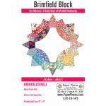 Brimfield Block English Paper Piecing Pack Makes 1 Block by Brimfield Awakening Paper Pieces Kits & Templates - OzQuilts
