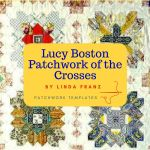 Lucy Boston Patchwork of the Crosses 1 inch Edge Template Set by OzQuilts EPP Templates - OzQuilts