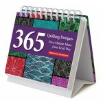 365 Quilting Designs Perpetual Calendar - 365 Free-Motion Ideas from Leah Day by C&T Publishing Hand & Machine Quilting - OzQuilts