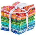 Zuma 24 Fat Quarters by Tula Pink by Free Spirit Fabrics Fat Quarter Packs - OzQuilts
