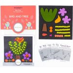 Sue Spargo Bird and Tree Colourway 2 Precut Wool Kit by Wonderfil  Sue Spargo Wool Felt PreCut Kits - OzQuilts