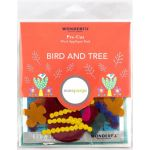 Sue Spargo Bird and Tree Colourway 4 Precut Wool Kit by Wonderfil  Sue Spargo Wool Felt PreCut Kits - OzQuilts